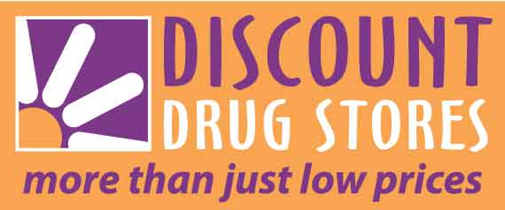 discount drug store logo